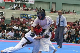 2008RF武道空手道選手権大会 女子48kg