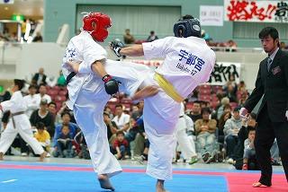 2008RF武道空手道選手権大会 男子66kg